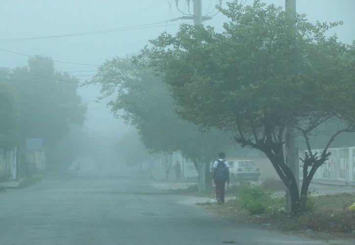 La Conagua dio a conocer que el fenómeno generará durante toda la semana en la Península de Yucatán una disminución gradual en las temperaturas. (Foto: Milenio Novedades)
