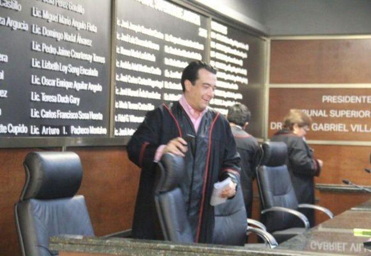 El magistrado Carlos Lima Carvajal es señalado de haber violado la Ley de Responsabilidades de los Servidores Públicos. (Redacción/SIPSE)