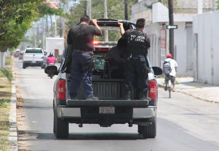 Tres custodios de la cárcel municipal fueron detenidos el sábado por pescar en un área natural protegida.  (Julian Miranda/SIPSE)