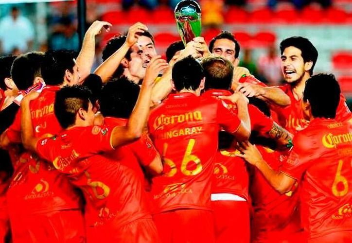 Jugadores del Neza, campeones del clausura 2013 del Ascenso MX. (Milenio)