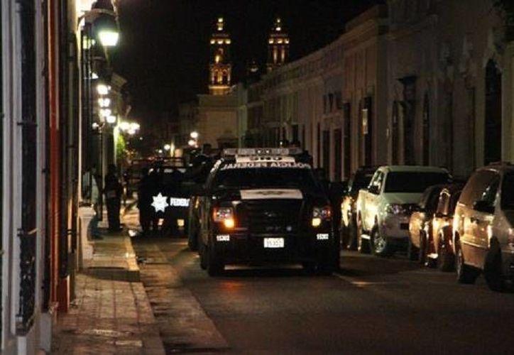 Dentro de los detenidos durante el cateo al casino de Campeche está Enrique José Perales Escalante, ex candidato por el PAN a la diputación del quinto distrito local. (Foto especial tomada de Milenio)