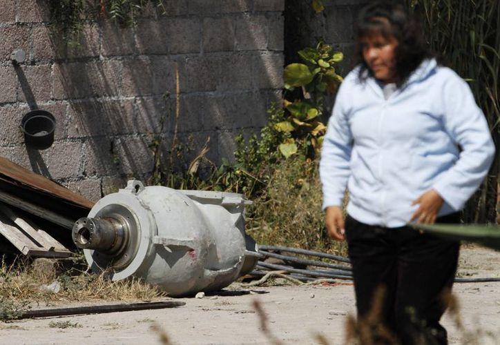 Las autoridades suspendieron las clases en un kinder cercano al lugar donde se halló la carga radiactiva. (Agencias)