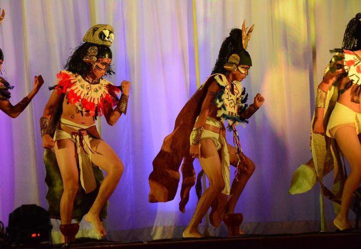 El Ballet Folclórico Itzamná se presentó oficialmente esta semana. (Victoria González/SIPSE)
