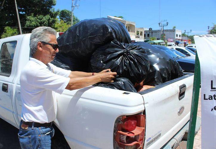 Es el penúltimo reciclatón de esta administracción. (Sara Cauich/SIPSE)