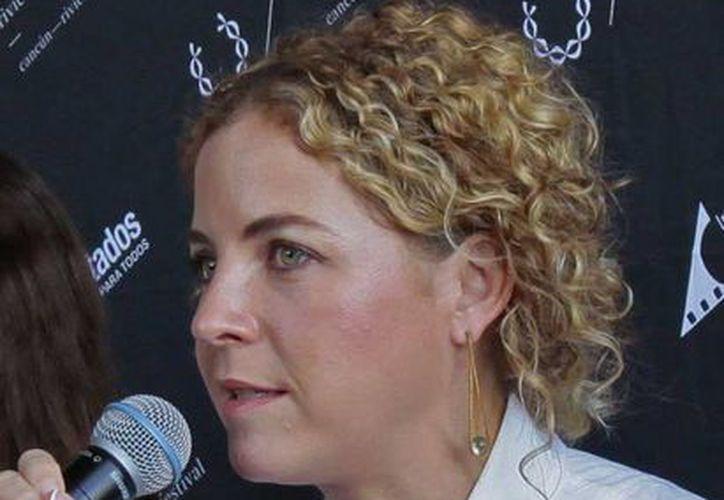 Paula Chaurand, directora del Riviera Maya Film Festival. (Redacción/SIPSE)