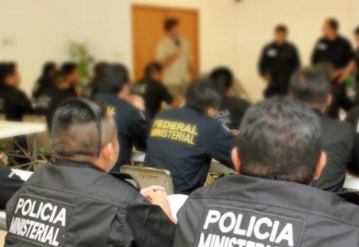 La Policía Ministerial es la única que pertenece a la Fiscalía General del Estado, por lo que ahora todos los asuntos relacionados con policías pertenecerán a una sola corporación. (Archivo/SIPSE)