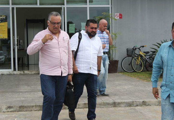 Mauricio Rodríguez Marrufo, exsecretario de Desarrollo Urbano y Vivienda, acudió ayer a la Audiencia Incidental de Ejecución, en los Juzgados Orales Penales. (Joel Zamora/SIPSE)