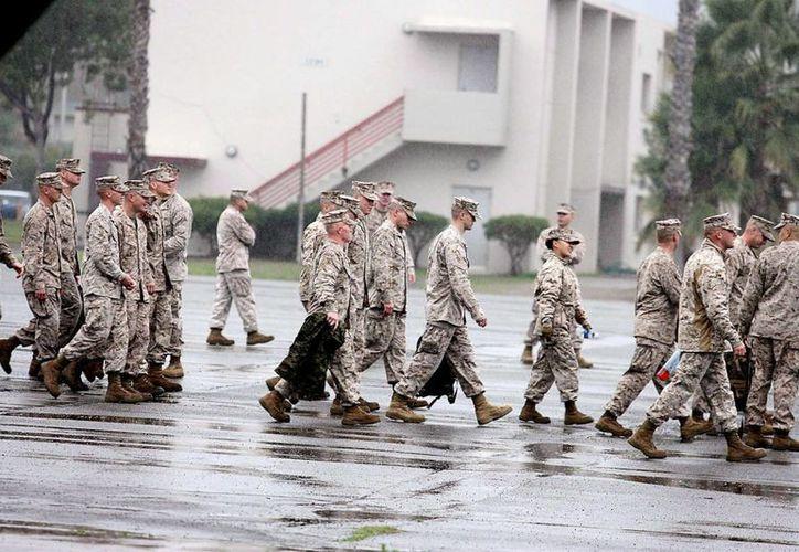Los militares pertenecían al primer batallón del noveno regimiento del cuerpo de infantes de Marina, con base en Camp Lejeune, Carolina del Norte. (EFE)