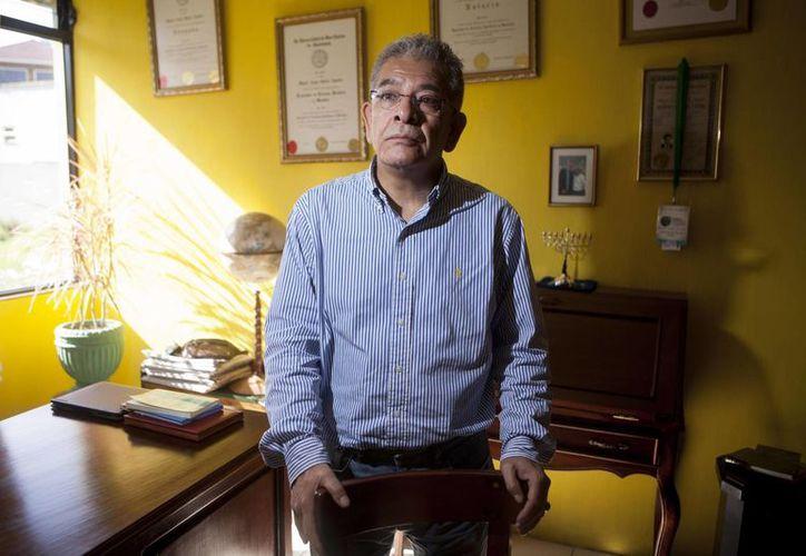 Imagen de Miguel Ángel Gálvez, juez que puso tras las rejas al presidente de Guatemala y a su vicepresidenta. (Agencias)