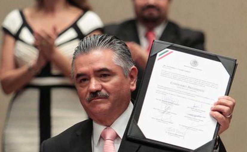 Valdés fue designado Consejero Presidente en el año 2008. (Notimex)