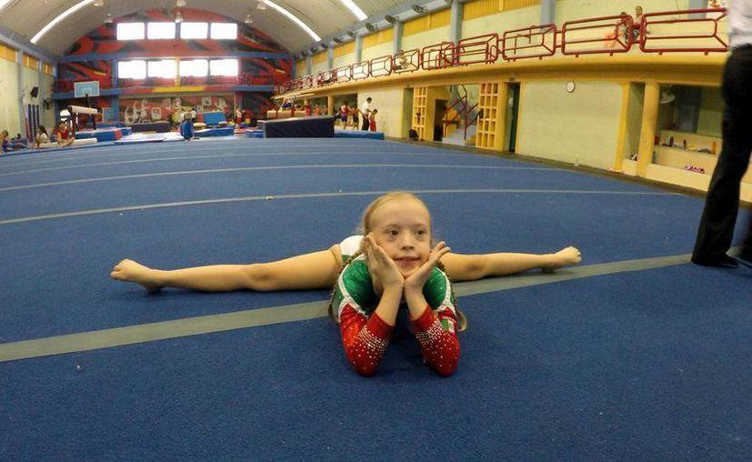 La próxima competencia de Bibi será en los Juegos Trisome, el principal campeonato mundial atlético de personas con síndrome de Down. (costaveracruz.net)