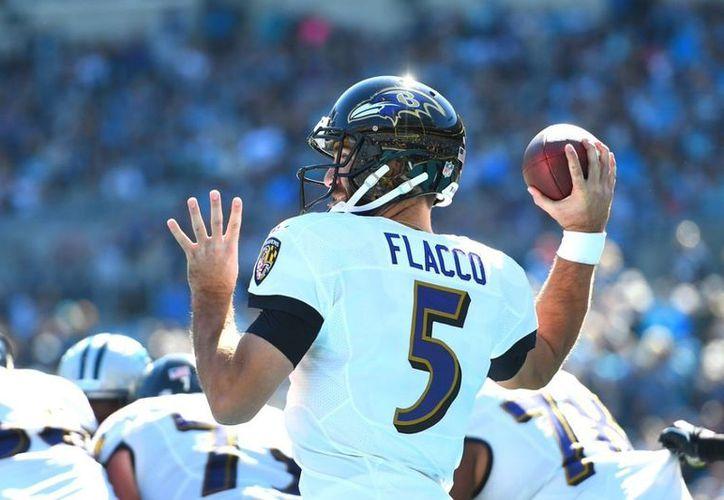 En un mes Joe Flacco se integrará a las filas de los Broncos de Denver. (Twitter/@JoeFlacco)