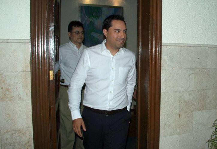 Hoy rendirá protesta el alcalde electo Mauricio Vila a las 20:00 horas en sesión solemne. (Milenio Novedades)