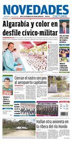 Algarabía y color en desfile cívico-militar