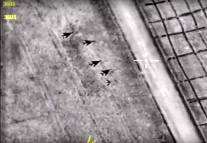Estados Unidos atacó una base aérea Siria la semana pasada. (AFP).