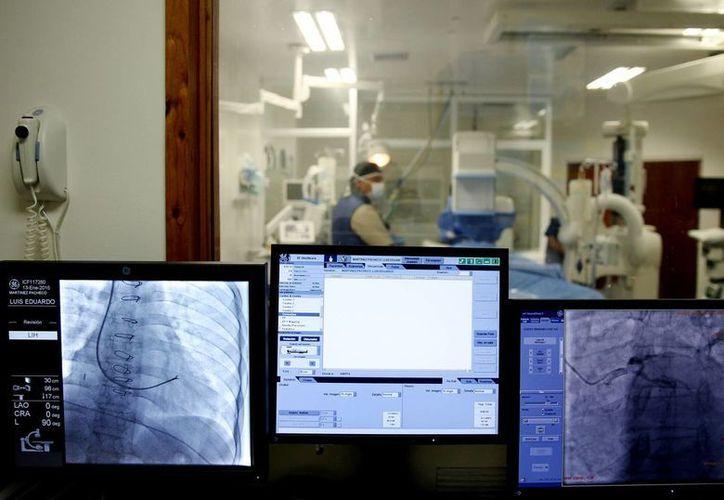Instalaciones de la Fundación Cardiovascular de Colombia, en la ciudad de Bucamaranga. (Foto EFE)