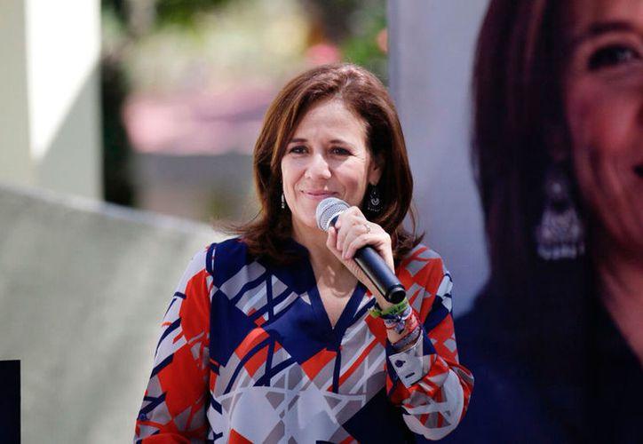 Margarita Zavala pide certidumbre en el proceso electoral. (Notimex)