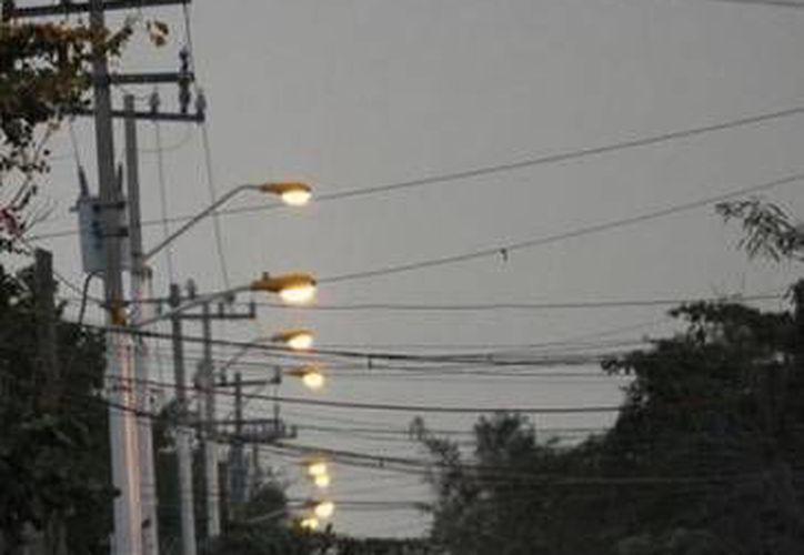 Ahora cada casa tendrá energía eléctrica y su medidor en forma. (Cortesía/SIPSE)