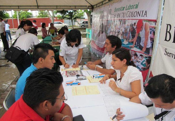 El evento representa un gran beneficio para quienes no tienen trabajo y tampoco dinero para transporte. (Cortesía)