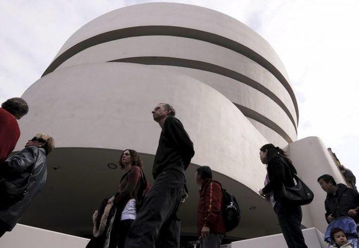 El Museo en espiral Guggenheim de Nueva York. (EFE/archivo)