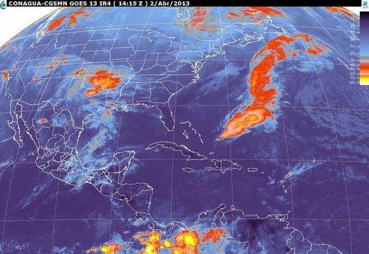 Soplará vientos del este y sureste de 30 a 50 km/h con rachas 70 km/h. (smn.cna.gob.mx)