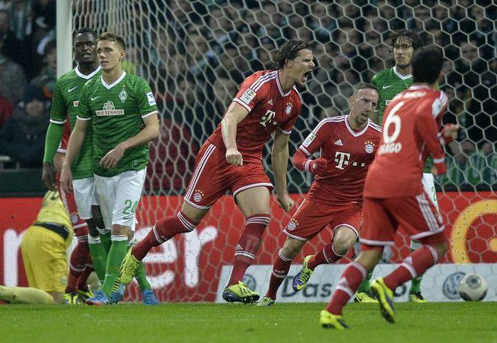 El actual campeón de la liga alemana ganó por decimotercera vez en 15 partidos. (Foto: Agencias)