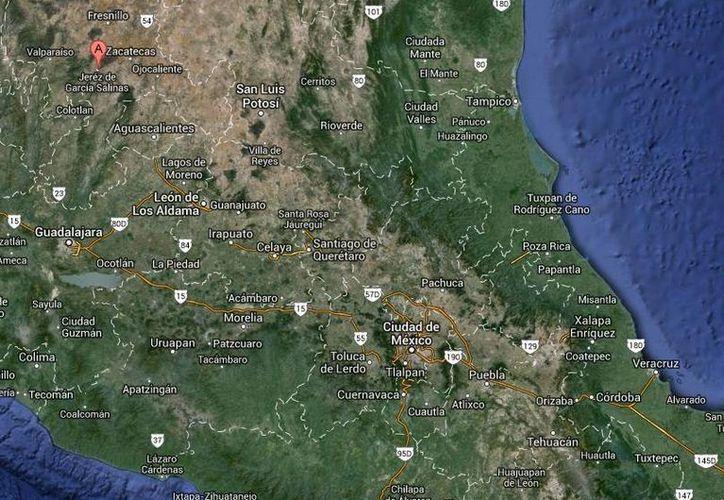 Militares pertenecientes a la XI Zona Militar realizaban anoche recorridos por la carretera federal 23 de Zacatecas cuando se vieron obligados a repeler un ataque armado. (Google Maps)