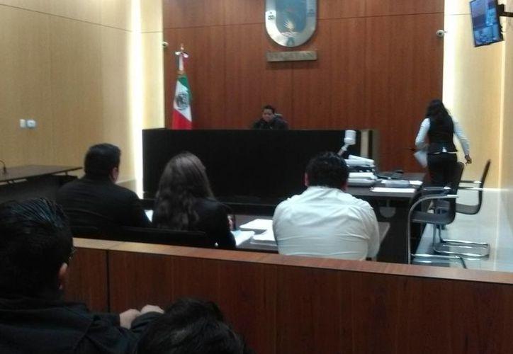 Diligencia penal en el que fue imputado un hombre acusado de matar a una joven de Conkal. (SIPSE)