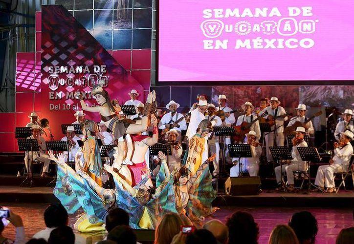 El Palacio de los Deportes de la Ciudad de México es la sede de la Semana de Yucatán en México, que finalizará el próximo 19 de junio. (Facebook/Rolando Zapata Bello)