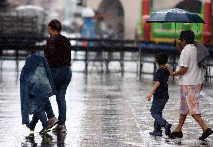 Se mantendrán las condiciones para lluvias con intervalos de chubascos y tormentas puntuales fuertes en todo el estado. (Archivo)