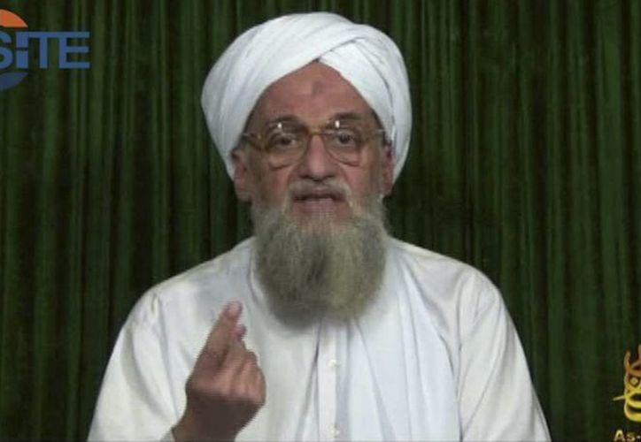 Al-Zawahri es el sucesor de Osama bin Laden. (Agencias)