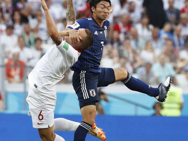 Solo Japón queda vivo como representante de Asia en el Mundial, luego de que ayer fuera eliminada Corea, aunque ganó 2-0 a la campeona Alemania (Foto AP)