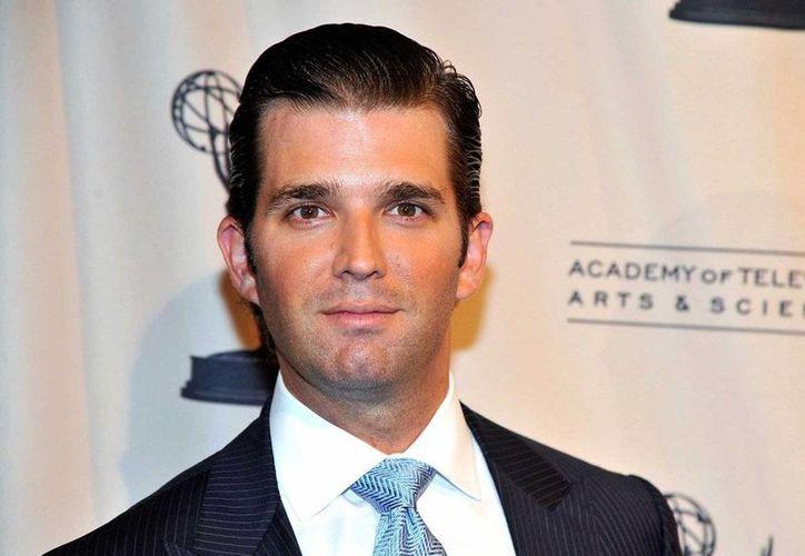 El hijo mayor de Donald Trump, causó polémica en Twitter al comparar refugiados sirios con caramelos envenenados. (businessinsider.com)