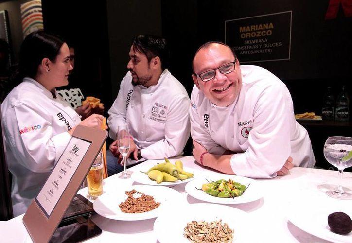 El chef yucateco Pedro Evia, propietario de K´u´uk, recalca que los yucatecos actuales no comen como comían los mayas, y, sin embargo, la gastronomía estatal aún atrae al resto del mundo. (Foto: Notimex)