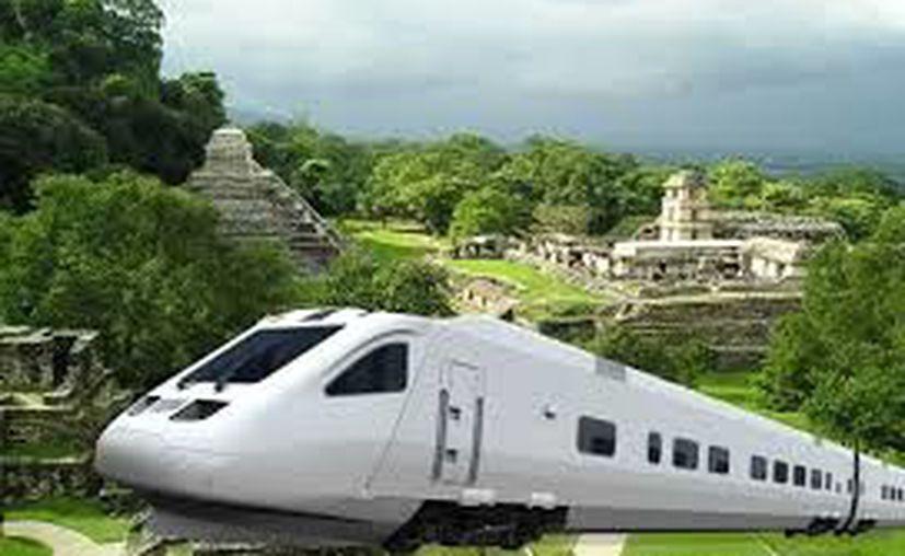El tren maya será construido sobre parte de una vía ya existente y recorrerá unos mil 500 kilómetros. (Archivo/Sipse)