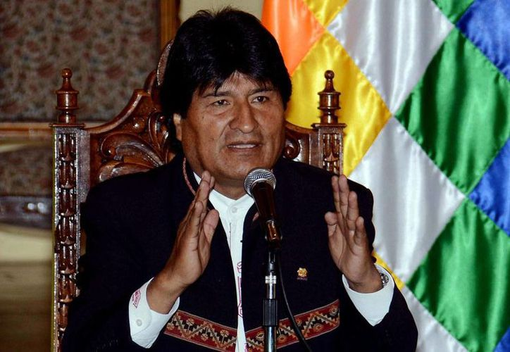 """""""Me disculpo humilde y sinceramente. No fue mi intención ofender a nadie"""", dijo el presidente de Bolivia, Evo Morales, en relación a su comentario a la ministra de Salud, Ariana Campero. (Archivo/Notimex)"""