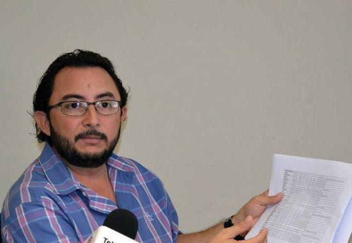 Álvaro Traconis Flores informó que apenas ayer se publicó en el Diario Oficial del Gobierno del Estado de Yucatán la descentralización del inaip. (Milenio Novedades)