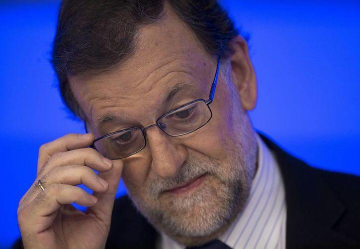 Mariano Rajoy dijo que su partido está dispuesto a dialogar con otras fuerzas políticas. (AP)