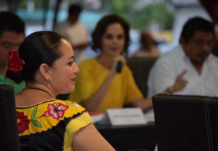 Este año la presidenta municipal realizó un viaje a Colombia, el cual trató de ocultar. (Foto: Redacción/SIPSE)