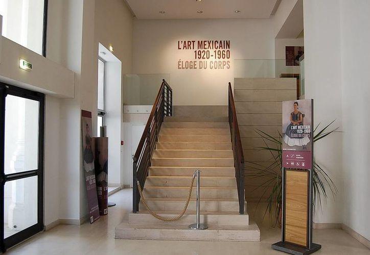 """La exposición en el Palacio Bellevue del puerto galo, al suroeste, lleva por título """"El arte mexicano 1920-1960. Elogio del cuerpo"""". (Notimex)"""