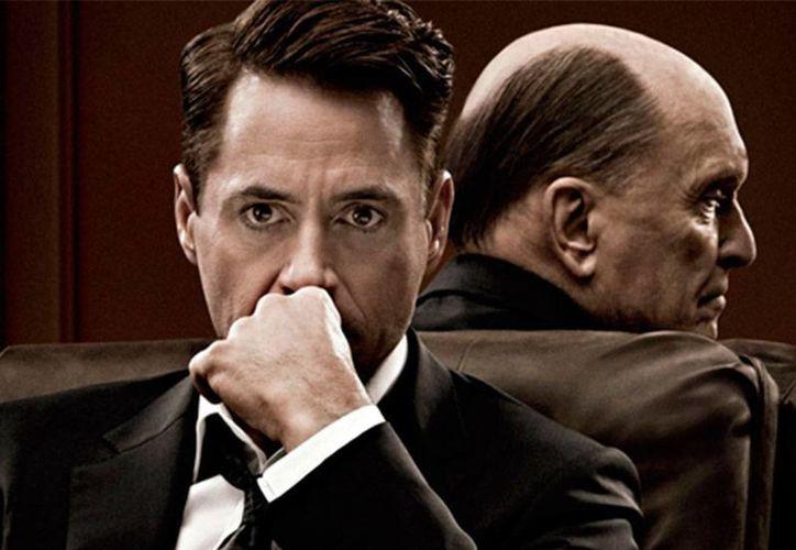 El actor Robert Downey Jr interpreta a un famoso abogado en la película 'The Judge', donde comparte créditos con Vera Farminga, Vincent D'Onofrio, Billy Bob Thornton y Leighton Meester. (excelsior.com.mx)