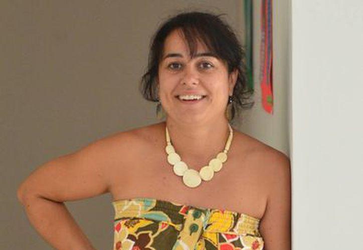 """Marion Lecardonnel Baudet, Directora de la Alianza Francesa de Mérida, afirma: """"Me encanta mi trabajo, reúne todo lo que me gusta además, la programación cultural es una de mis pasiones"""". (Milenio Novedades)"""