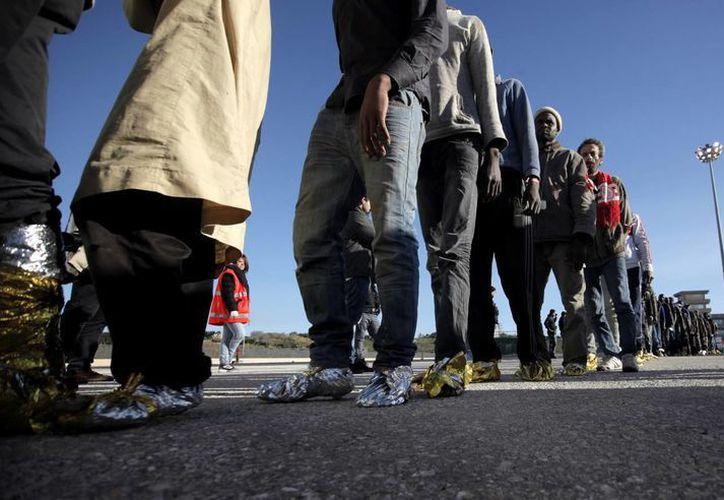 De acuerdo con cifras de la Segob, de enero a mayo de 2014 ya sumaban 119 mil mexicanos repatriados desde EU. (Notimex/Foto de contexto)