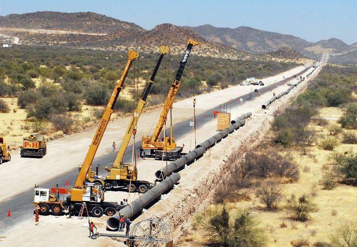 La etnia yaqui mantenía bloqueada la carretera federal en protesta por la obra del Acueducto Independencia. (Archivo/SIPSE)
