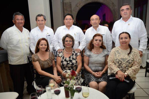 Colegio de ingenieros civiles de yucat n a c entrega for Blanca lilia romero cenipalma