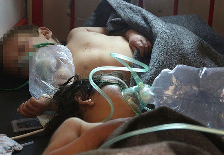 """El balance de muertos fue agravándose durante la mañana, conforme nuevas víctimas, todas civiles, morían """"tras ser trasladadas a los hospitales"""". (RT)"""