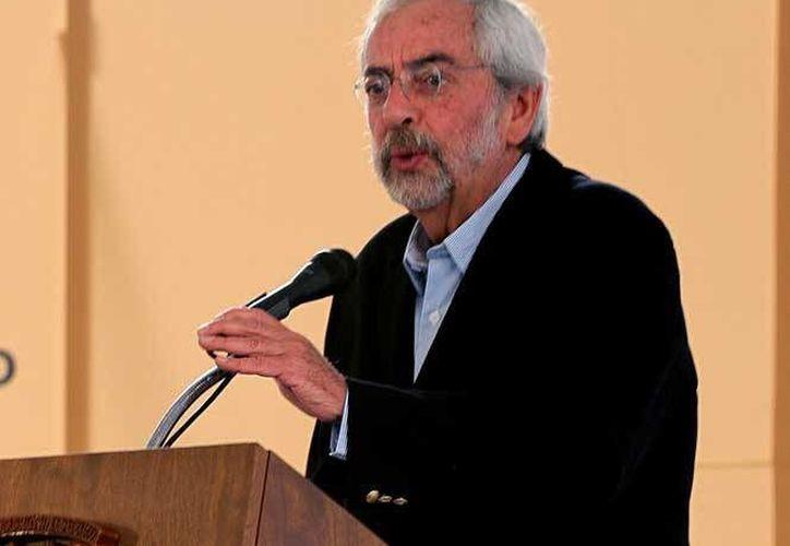 Enrique Graue, rector de la UNAM, destacó que los líderes de la Máxima Casa de Estudios del país rechazan el consumo de marihuana en espacios escolares. (Notimex)