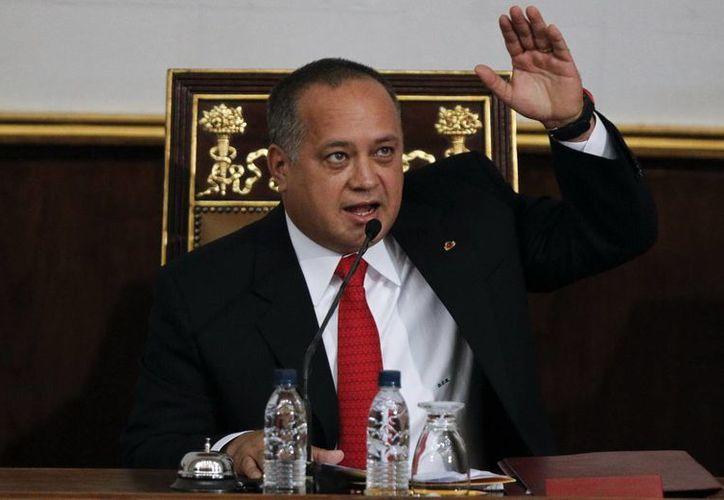 El presidente de la Asamblea Nacional, Diosdado Cabello, aún no ha hecho la denuncia formal. (EFE)
