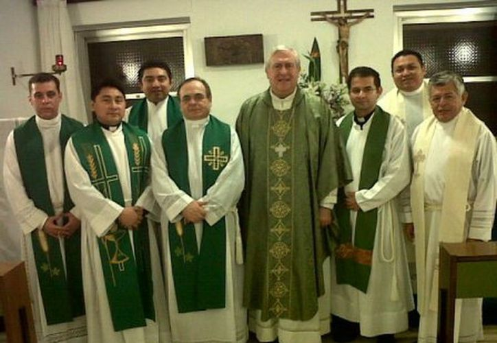 El tema del congreso al que acudieron los presbíteros yucatecos gira en torno a la Nueva Evangelización en el mundo marítimo. (Manuel Pool/SIPSE)