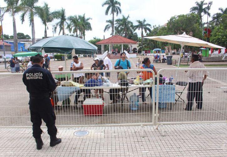 Las autoridades del municipio informaron que no pueden pagar en una sola exhibición la cantidad por falta de recursos. (Jesús Caamal/SIPSE)